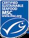 certified sensible seafood - msc logo